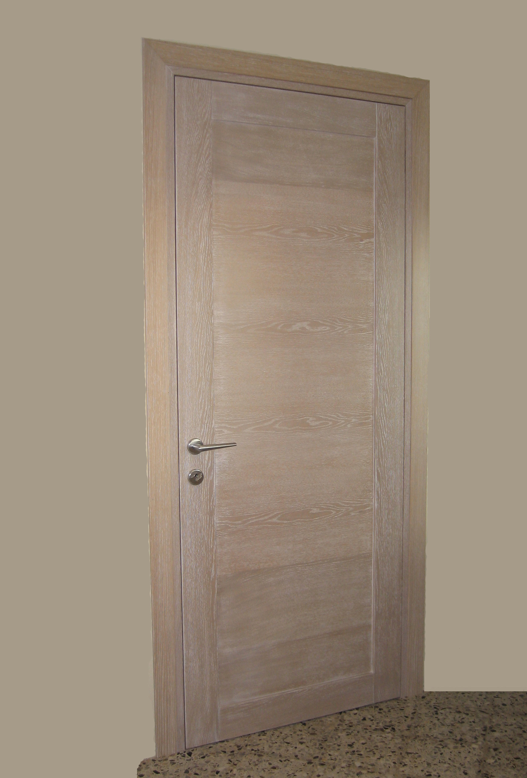 Porte interne falegnameria bagnara camisano - Porte rovere sbiancato ...